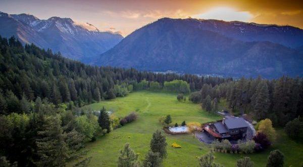 mountain home retreat